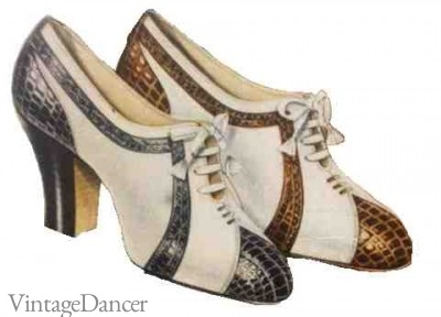 1930s Shoes History: Popular Styles for Women