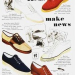 mens casual 1930's shoes ad