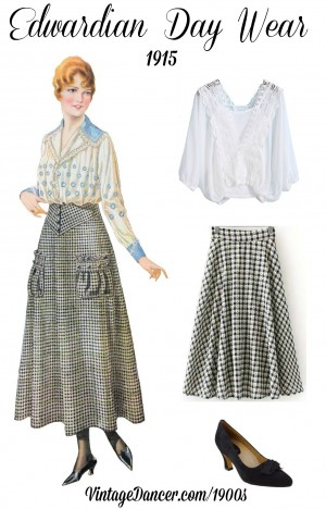 Edwardian Style Skirts 1900-1919 Inspired Fashion