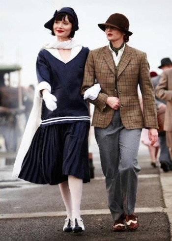 1920s feminine and masculine styles. Get these looks at VintageDancer.com/1920s